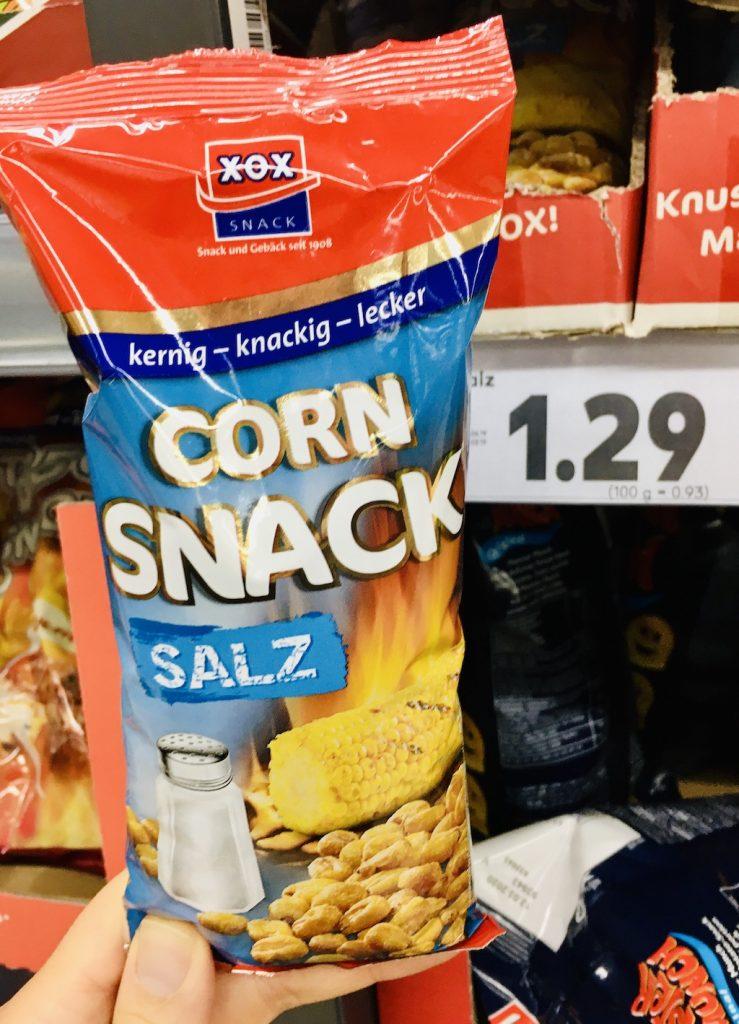 Frittierter Mais