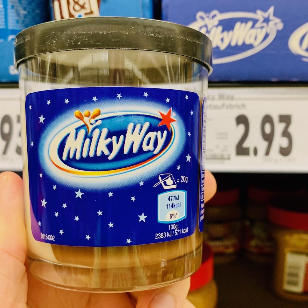 Milky Way Brotaufstrich